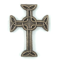 Wild Goose Celtic Cross of Faith Wall Hanging