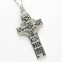Image for Sterling Silver St. Patricks And Columba Kells High Cross