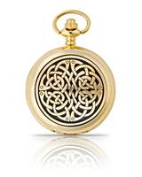 Image for Gold Plated Never Ending Knot Pocket Watch