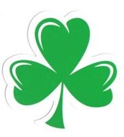 Image for Irish Shamrock Decal