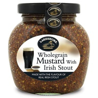 Image for Lakeshore Wholegrain Mustard with Irish Stout 205g