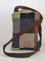 Image for Hanna Hats Irish Linen Patch Cross Body Bag