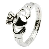 Image for Sterling Silver Claddagh Ladies Ring