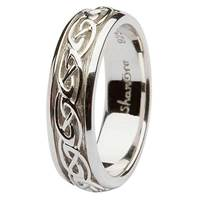 Image for Sterling Silver Ladies Celtic Knot Band