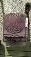 Image for Celtic Knot Shoulder Bag - Foxglove
