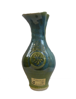Image for Colm De Ris Irish Pottery Vase, Small Green