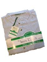 Image for Irish Grandfather Shirt - Blue Stripe
