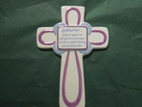 Image for Godmother Ceramic Cross