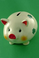 Image for Shamrock Ceramic Piggy Bank