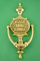 Image for Brass Cead Mile Failte Claddagh Door Knocker
