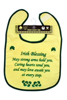 Image for Irish Blessing Baby Bib