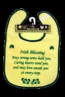Image for Irish Blessing Baby Bib