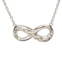 Image for Sterling Silver Celtic Infinity Pendant