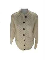 Image for Lumber Cardigan Merino Wool, Natural