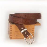 Image for Lee River Leather Owen Belt, Brown