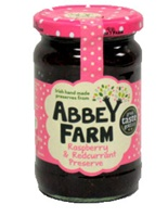 Image for Abbey Farm Raspberry  and  Redcurrent Preserve