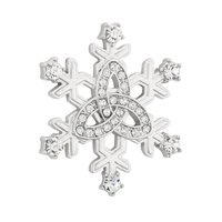 Image for Trinity Snowflake Brooch