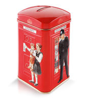 Image for Ahmad London Telephone Booth Tin