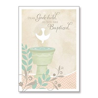 Image for Dear Godchild Baptismal Card