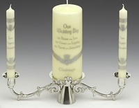 Image for Claddagh Unity Candle Holder