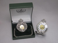 Image for Mullingar Pewter Kells Mechanical Pocket Watch