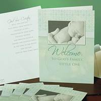 Image for Little One Baptism Card