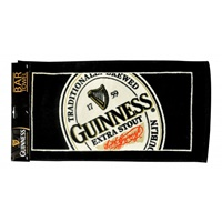 Image for Guinness English Label Bar Towel