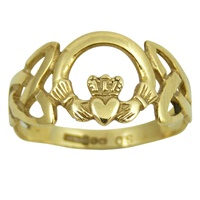 Image for Gold Trinity Claddagh Ring