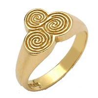 Image for 10K Yellow Gold New Grange Ring