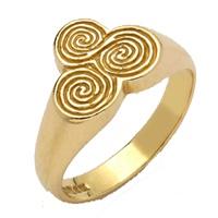 Image for 10K Yellow Gold New Grange Ring