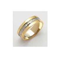 Image for Ladies Claddagh Corrib Band With High Profile Sides