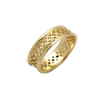 Image for Ladies Sheelin Celtic Pierced Wedding Band
