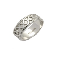Image for Ladies Sheelin Wide Celtic Wedding Band
