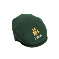 Image for Hanna Green Vintage Cap with Ireland and Shamrock