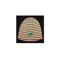 Image for Adult Shamrock Striped Hat