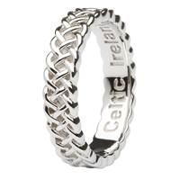 Image for Celtic Knotwork Ring in Sterling Silver