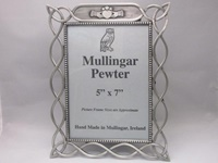 Image for Mullingar Pewter Celtic Frame, 4x6