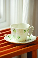 Image for Belleek China Harp Tea Saucer