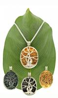 Image for Keith Jack Gilded Tree of Life 4-Way Pendant