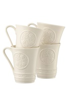 Image for Belleek China Irish Craft 10oz Mugs- Set of 4