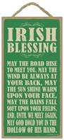 Image for Irish Blessing: May the Road Rise to Meet
