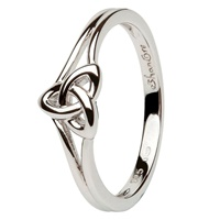 Image for Trinity Knot Sterling Silver Ring