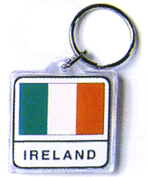 Image for Ireland and Irish Flag Keyring