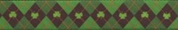 "Image for Irish Argyle Dog Collar 10""-14"" Small"