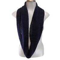 Image for Bill Baber Orkney Snood - Infinity Scarf, Navy