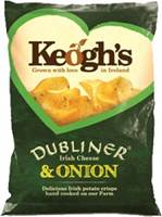Image for Keoghs Dubliner Cheese and Onion Crisps 50 g