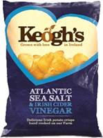 Image for Keoghs Atlantic Sea Salt and Irish Cider Crisps
