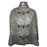 Image for Calzeat Celtic Knot Cape - Fern