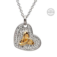 Image for Trinity Pendant Encrusted With Swarovski Crystals