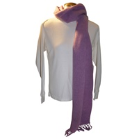 Image for Hanly 100% Lambswool Scarf, Lavender